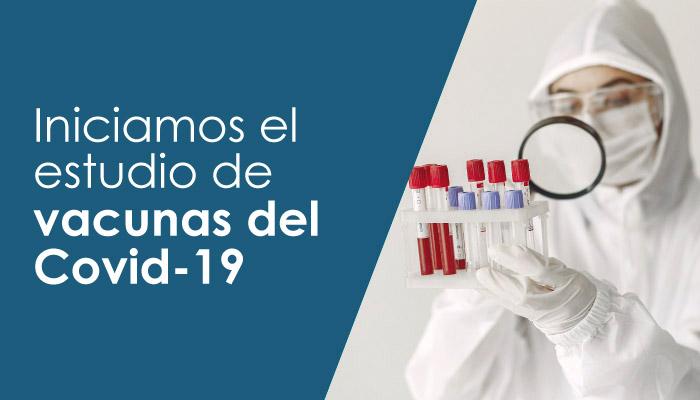 Voluntario estudio de vacunas del covid 19